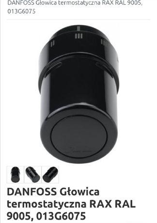 Dwie glowice termostatyczne Danfoss czarne