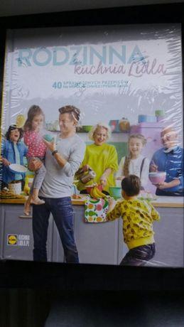 Książka rodzinna kuchnia lidla nowa zafoliowana