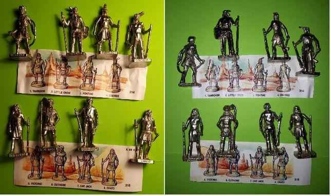 Metalowe Figurki z Kinder Niespodzianka, Indianie.
