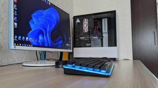 Игровой ПК Ryzen 7 3700X, GTX1070OC, 16Gb RAM, 480+521Gb SSD, 1TB HDD