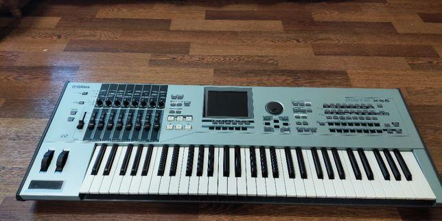 Продам синтезатор/рабочую станцию Yamaha Motif XS6