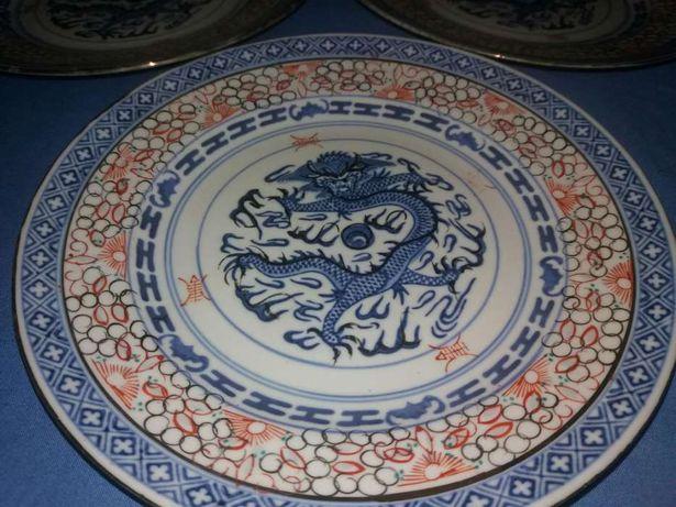 3 pratos de Macau
