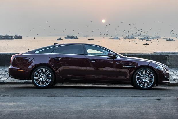 Luksusowe auto samochód do ślubu najnowszy Jaguar XJL LONG - 5,5 metra