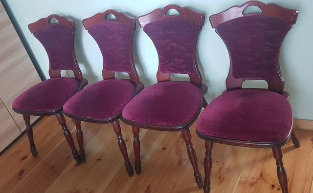 Krzesła tapicerowane mocne wygodne tanio solidne dowóz