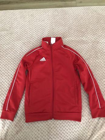 Bluza Adidas czerwona na 128