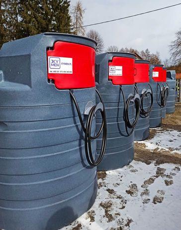 Zbiorniki na ropę paliwo ON dwupłaszczowy 1500l