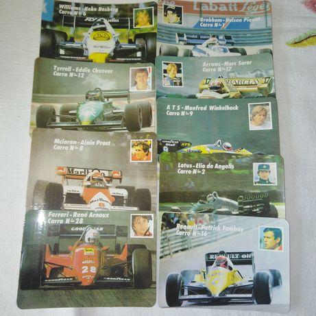 Calendário F1/ 1987