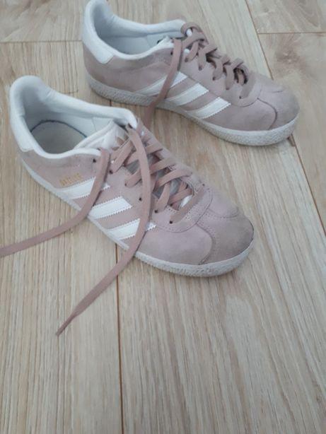 Różowe buty na wiosnę Adidas rozm. 35
