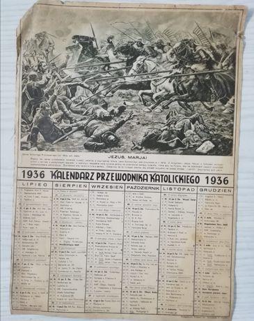 Antyk kalendarz 1934