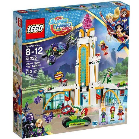 Lego (Лего) DC Super Hero Girls 41232 Школа супергероїв