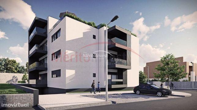 Apartamentos T2 em construção próximos ao centro da cidade de V.N.Fama