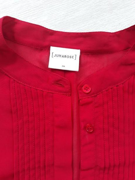 Duża czerwona bluzka junarose (rozmiar 48-50)