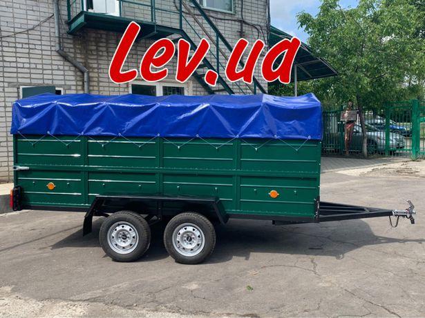 """Прицеп """"Лев 300"""" двухосный под категорию В от завода"""