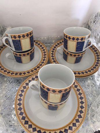 Чайные двойки 6 персон ГДР