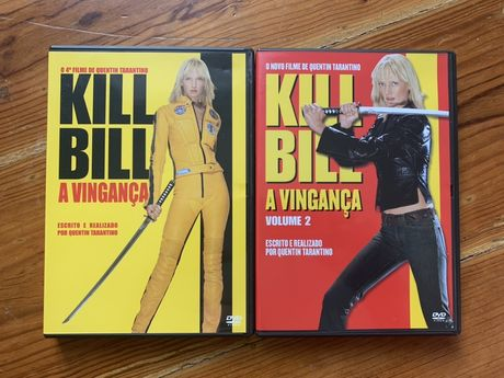 3 DVDs de Quentin Tarantino: Kill Bill e Jackie Brown