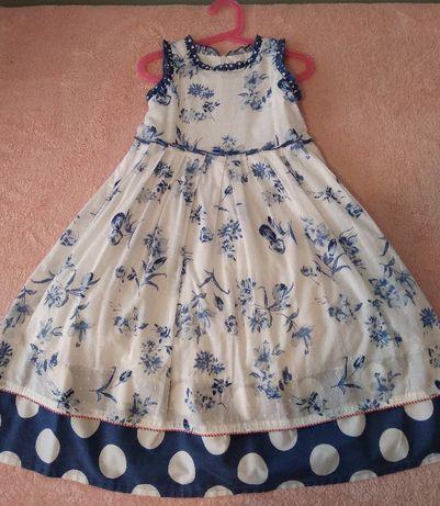 Sprzedam elegancką sukienkę dziecięcą r.116