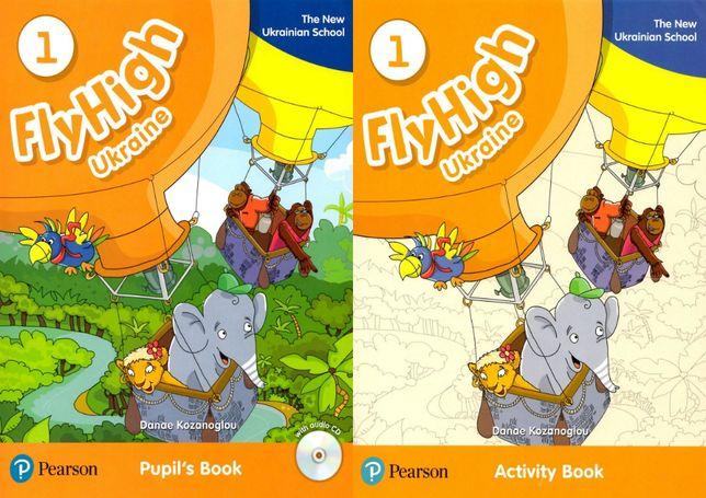 Fly High 1 Ukrainian: Pupil's Book + Activity Book + Наклейки + CD