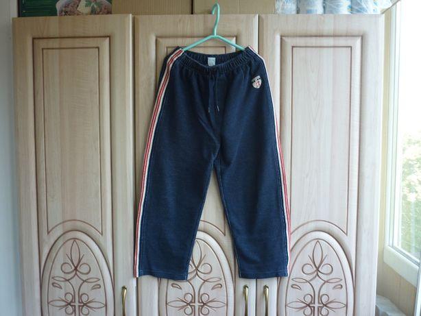 продам плотные -тёплые штаны с лампасами на подростка