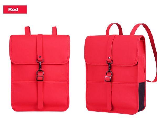 Сумка-рюкзак из искусственной кожи для ноутбука 15,6 дюйма