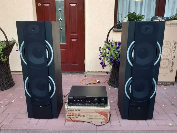 Wzmacniacz Voice Kraft AV 868 USB SD  Karaoke