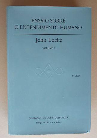 ensaio sobre o entendimento humano / john locke