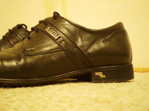 L-STYLE туфлі чоловічі туфли мужские шкіра шкіряні кожанные кожа 39