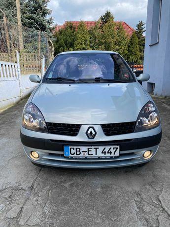 Reno Clio 1.2 Benz. Klimatronic Webasto- Półautomat 5 drzwi z Niemiec.
