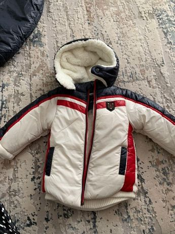 Детская зимняя куртка Colors Land 86-го размера