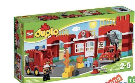 Конструктор Lego Duplo Большая пожарная станция 10593