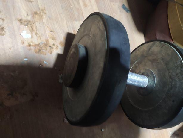 Гантеля разборная 25 кг 2700 рублей