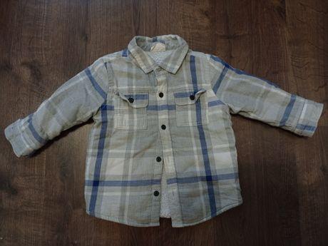 Утепленная рубашка Crazy 8 на мальчика 1.5-2 года