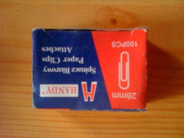 Spinacz biurowy 28 mm , Spinacze biurowe 2,8 cm