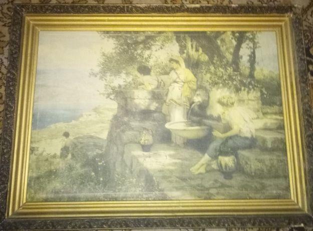 Картина картины большие старинные обмен