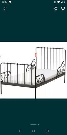 Łóżko Ikea MINNEN 80x200cm - stan BDB