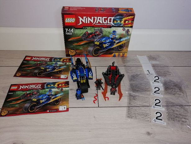 Lego Ninjago 70622 Pustynna Błyskawica. OPIS.