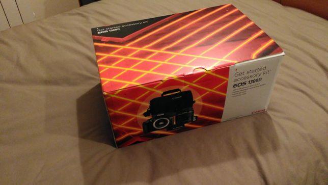 Kit Máquina DSLR Canon 1300D