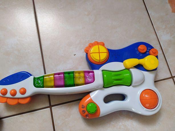 Gitara  interaktywna grająca