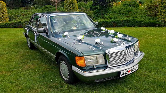 Auto do ślubu - Mercedes-Benz - Klasa S - Zabytek - Klasyk - Retro