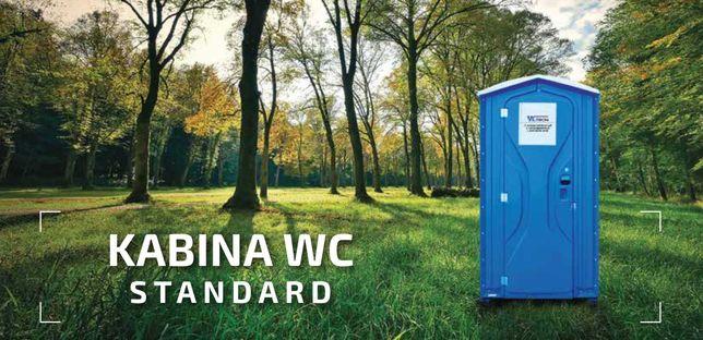 Toaleta przenośna budowa kabina wc serwis wynajem toalety impreza
