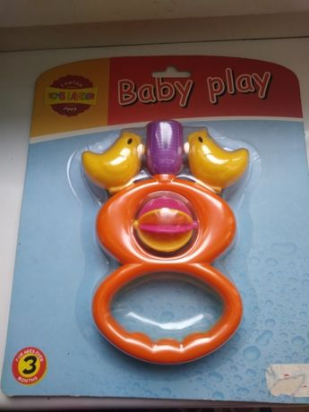 Nowa grzechotka Toys Lander koguciki