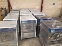 Alugamos equipamentos novos para lavandaria industriais e self service