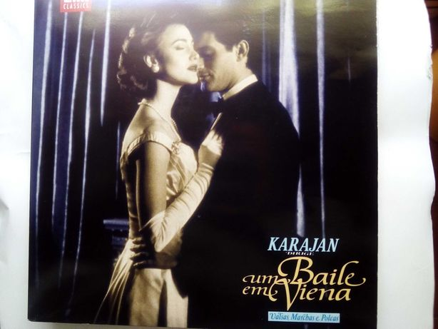 Karajan, disco vinil duplo 33 rpm, Um baile em Viena