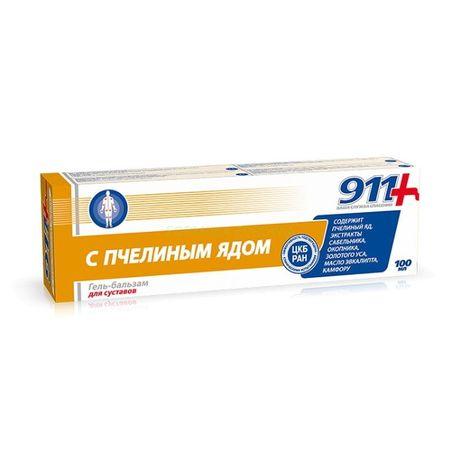 911 Żel-balsam z jadem pszczelim 100 ml