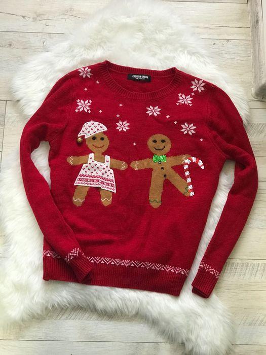 Новогодний свитер красный Днепр - изображение 1