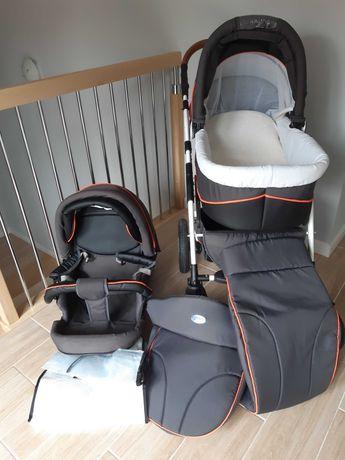 Wózek dziecięcy Verdi Broko - gondola, spacerówka i akcesoria
