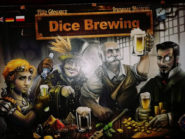 Dice brewing - gra planszowa