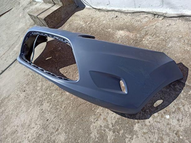 Продам бампер передний на Ford Fiesta MK7. Бампер новый. Грунтованный