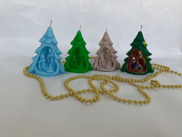 Ароматическая свеча «Рождественская ель»!