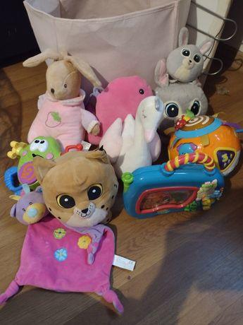 Misie różne zabaweczki