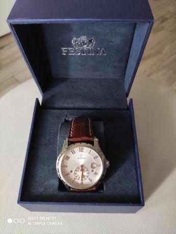 Zegarek klasyczny męski retro Festina F16486 F16486/3